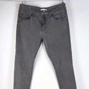CAbi #921 Faded Gray Skinny Jeans